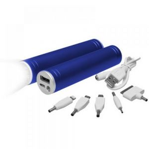 POWER BANK LINTERNA METALICA