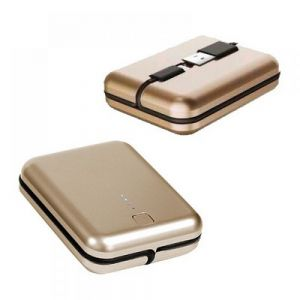 POWER BANK CON CABLE DUO